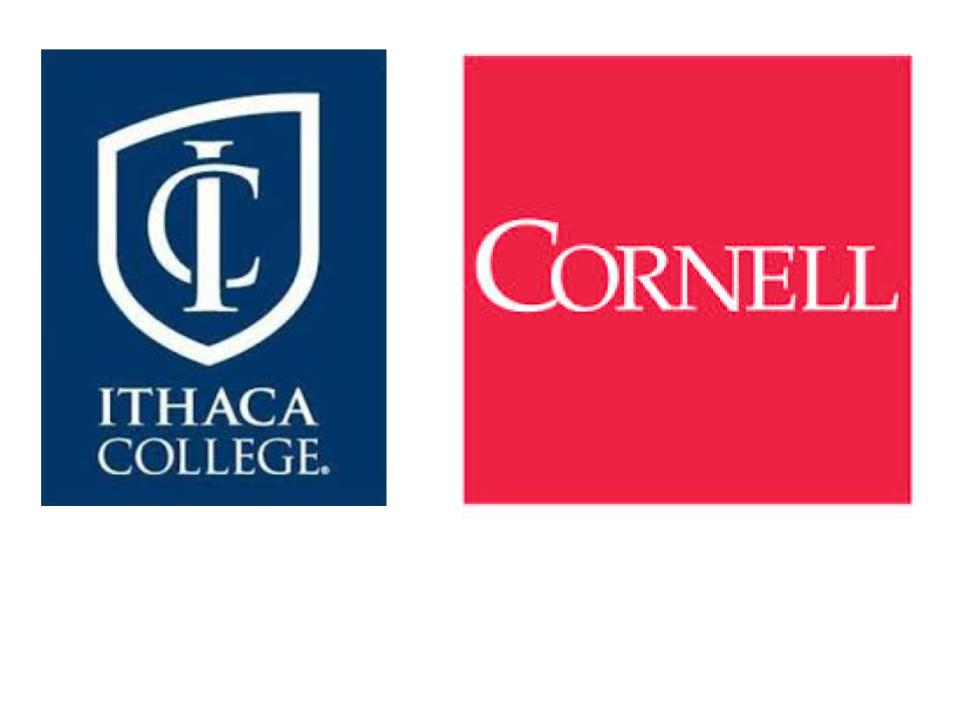 Cornell and Ithaca college logos